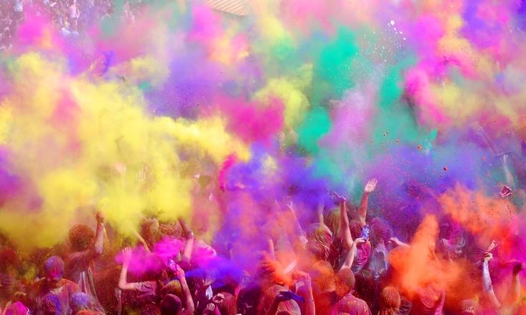 Holi Colors Festival of India
