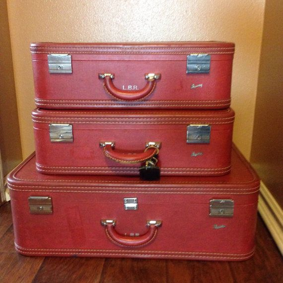 Vintage Skyway Luggage Set By Atailoredhome89 On Etsy