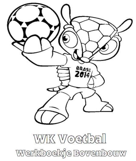 WK Voetbal Werkboekje Bovenbouw