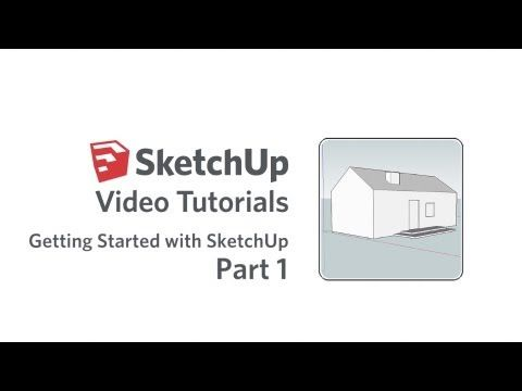 Getting Started with SketchUp - Part 1  http://youtu.be/dL01iW9DAEU