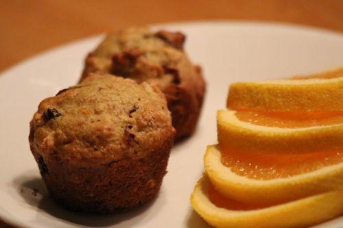 Nouvelle #recette sur le site: des mini-#muffins aux #canneberges et #orange.  #dessert #déjeuner #brunch #BoîteÀLunch Bon jeudi!