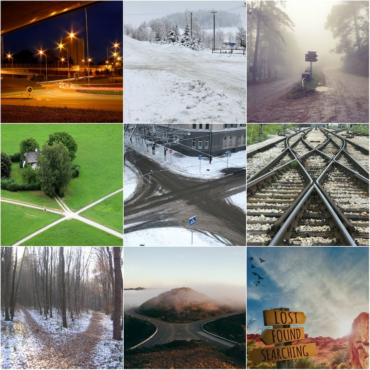"""Motivation Mondays: CROSSROADS  - """"We have to get used to the idea that at the most important crossroads in our life, there are no signs."""" Ernest Hemingway"""" #motivation #crossroads #decisions"""