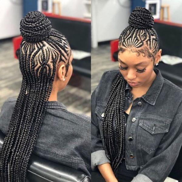 26+ Cornrow braids for women ideas in 2021