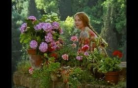 ENCHANTED APRIL--GARDENS OF SAN SALVATORE    I love this moment in the movie.  It represents a renewal of life.:
