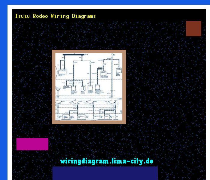 Isuzu rodeo wiring diagrams. Wiring Diagram 175847