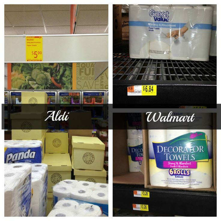 Aldi vs. Walmart which one is really less expensive than