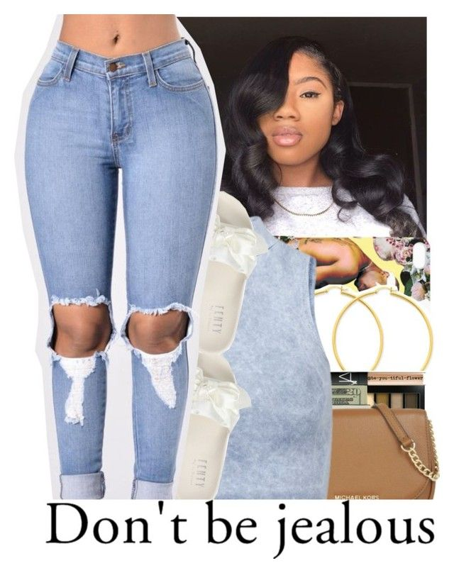 """""""Untitled #389"""" by slayed-fashion ❤ liked on Polyvore featuring Influence and Puma"""