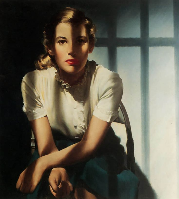 Robert George Harris (illustrator) ......amazing use of shadows.