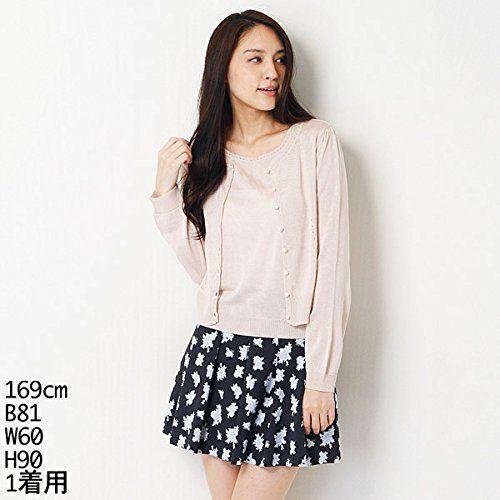 Amazon.co.jp: ウィルセレクション(WILLSELECTION) アンサンブル(Wコンレースブロッキング)【30ピンク/M】: 服&ファッション小物通販