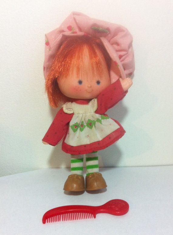 1980 Strawberry Shortcake Cartoons | Vintage Strawberry Shortcake Doll Toy 80s 1980 cartoon original TV ...
