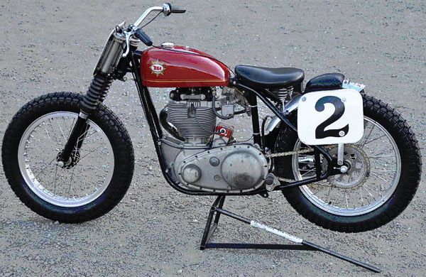 Dick Mann Flat Tracker | Dick Mann BSA Gold Star flat tracker