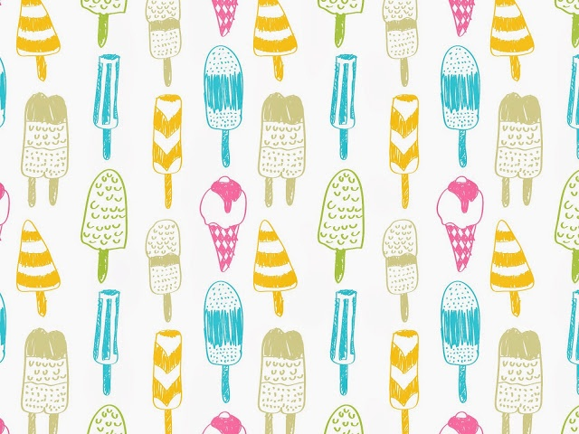 Cute Summer Iphone Wallpapers: Free Popsicle Pattern For A Cool-me-down On A Summer's Day