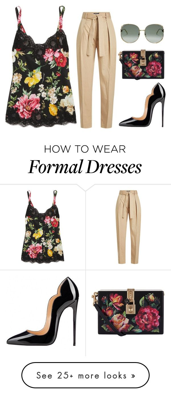 """Untitled #619"" by farrahaqs on Polyvore featuring Dolce&Gabbana, Polo Ralph Lauren and Gucci"