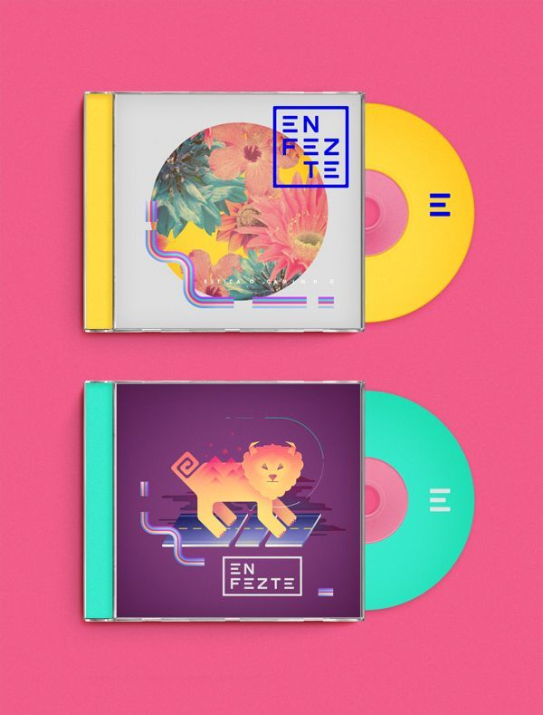 Enfezte by Diego Morales on Behance #CD #packaging PD