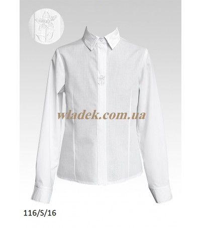 Школьная форма Sly (Польша) - Школьная блузка Sly 116 в интернет-магазине wladek.com.ua