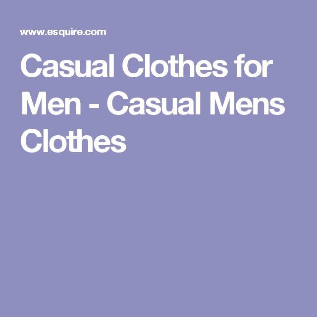 Casual Clothes for Men - Casual Mens Clothes
