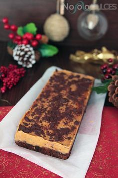 No solo dulces - Receta turron blando de chocolate y dulce de leche