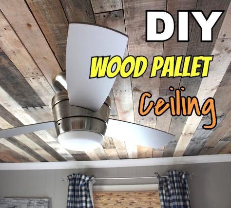 Best 25 Pallet ceiling ideas on Pinterest Rustic walls Pallet