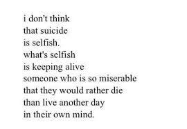 Is it Selfish