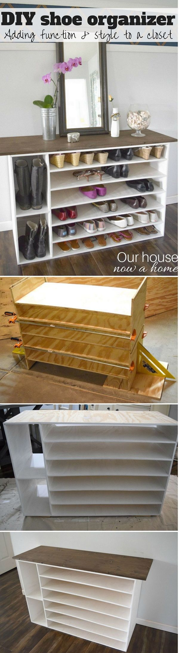 Check out how to build your own DIY shoe storage organizer @istandarddesign