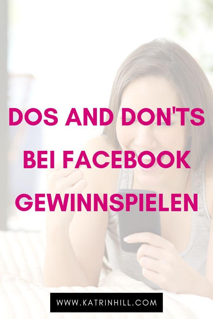 Gewinnspiele Auf Facebook Beispiele Richtlinien Facebook Instagram Tipps Gewinnspiel