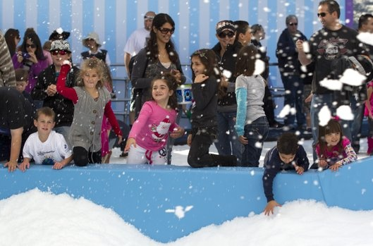 Looking into a trip to Sea World but was totally turned off by their new exhibit open Nov19-Jan1st. SNOW land. Real snow in CA. Umm... Snow is the reason I want to go to CA, but to get away from it not to pay to see it. UGH!