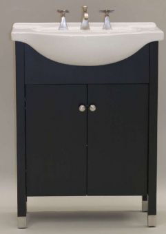 22 Inch Single Sink Modern Bathroom Vanity With Choice Of Finish And Sink  UVEICO22