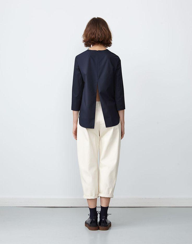 Hibiki Top Indigo + Nakano Jean Natural *2