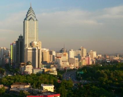 Skyline-Urumqi, China