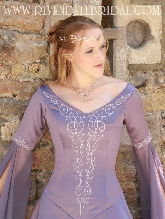 Medieval & Fairy Wedding Dresses | Celtic, Elvish, Gothic, Alternative Dress Designs, UK