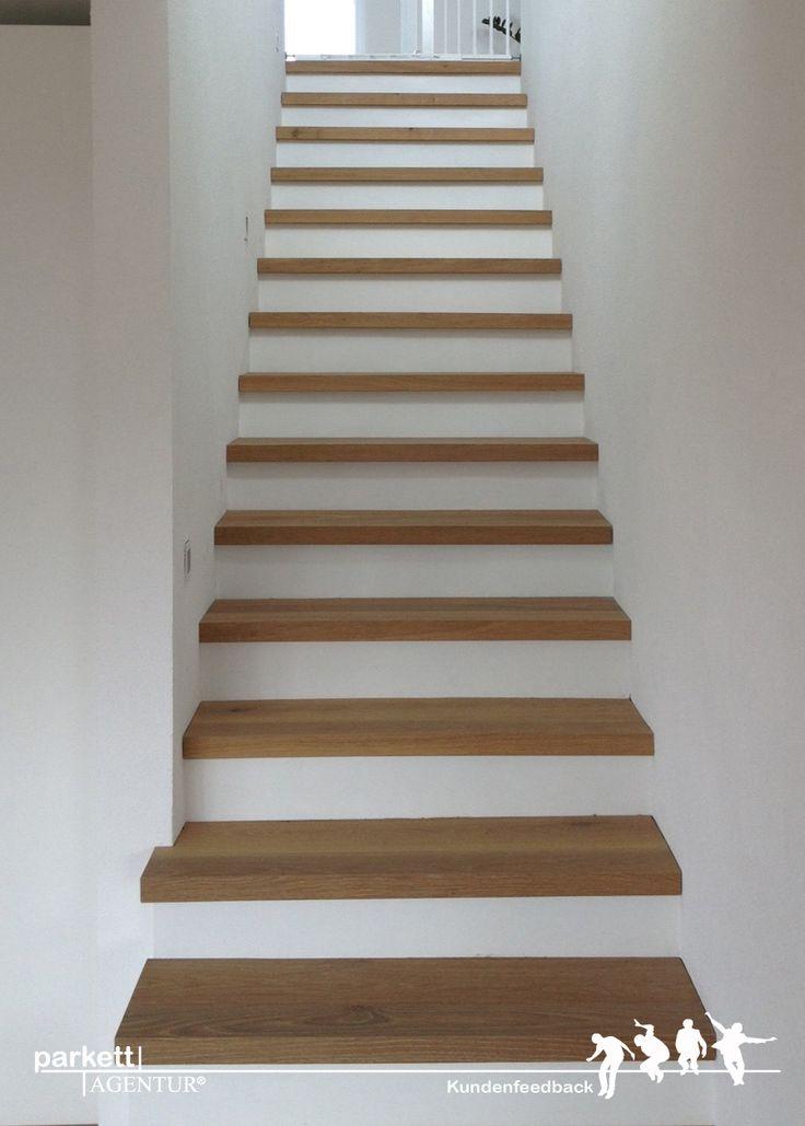 Kundenfeedback aus Uttwil in der Schweiz. Treppenkantenprofile aus Parkett…