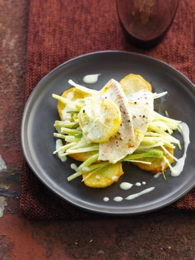 Witvis met gekonfijte citroen http://njam.tv/recepten/witvis-met-gekonfijte-citroen