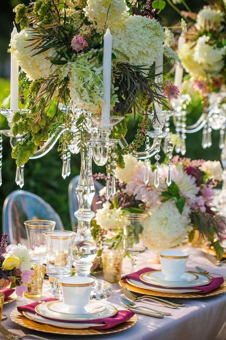 Elegant Tablescape Wedding Decor Ideas Pinterest