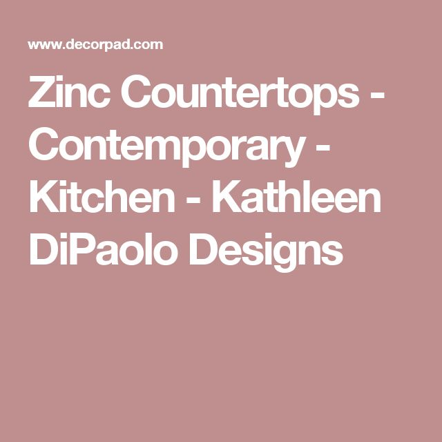 Best 25+ Zinc Countertops Ideas On Pinterest