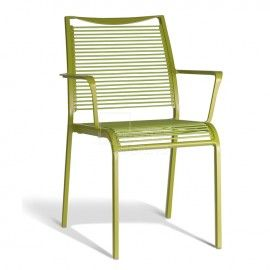 Seychelles Dining Arm Chair - Green