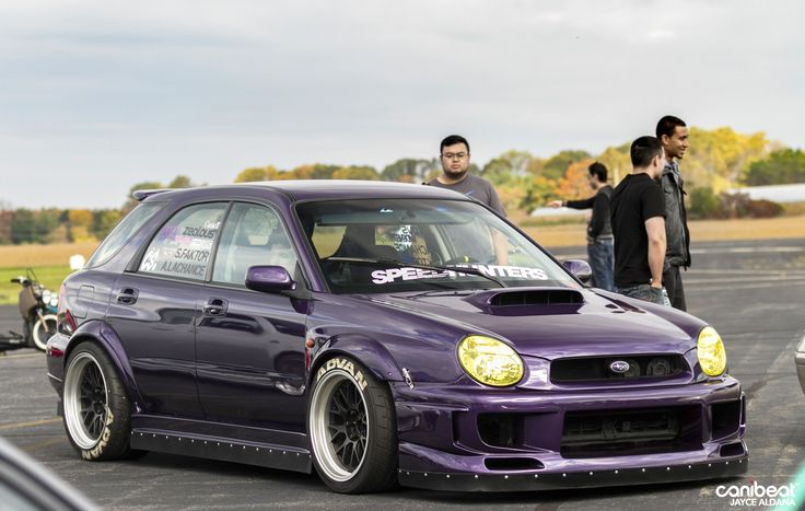 2002 Subaru WRX Wagon  CAN Shooting BrakeWagons  Pinterest