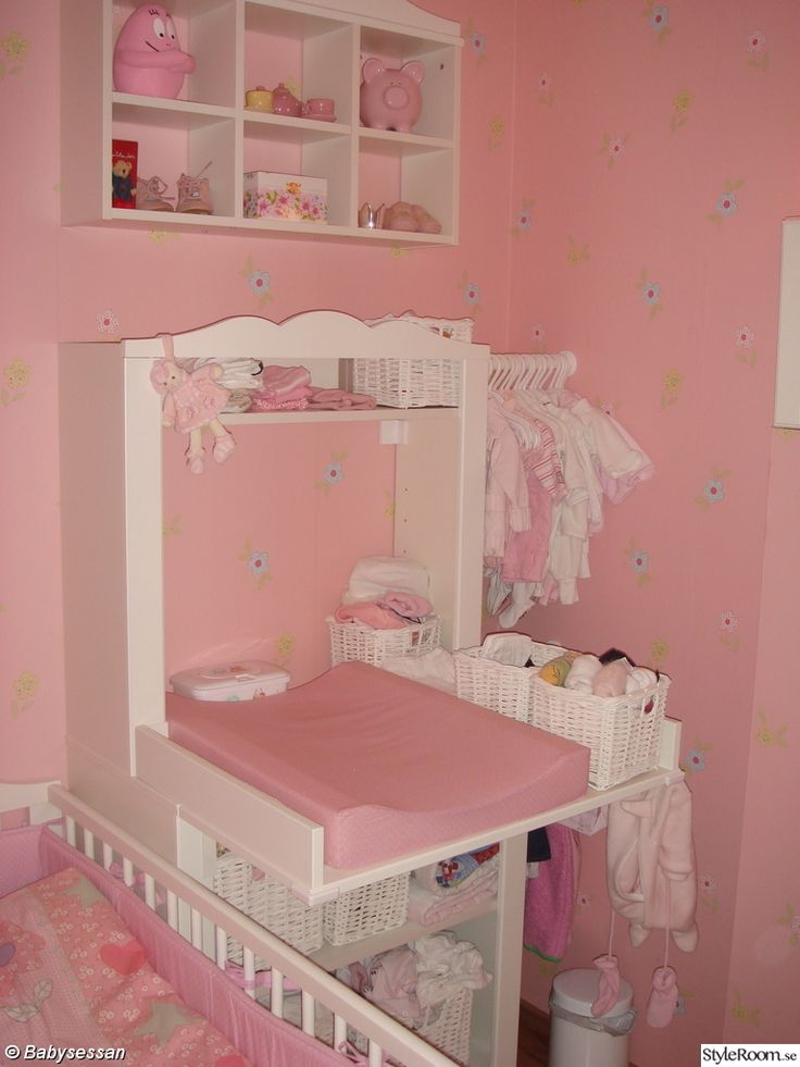 Cute Idea for IKEA Hensvik cabinet/space saving nursery