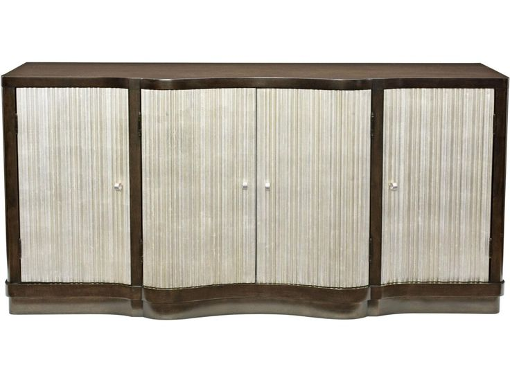 Bernhardt Miramont Dining Buffet With Silver Sand Finished Doors   Baeru0027s  Furniture   Buffet