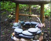 Items similar to Wishing Well // Gnome and Fairy Garden Accessory on Etsy