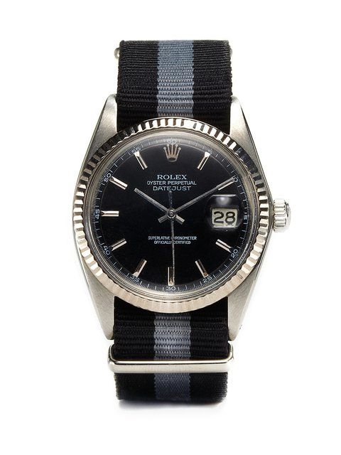 Fancy - Vintage Watches Rolex Oyster Perpetual Datejust (c. 1966) at Park & Bond
