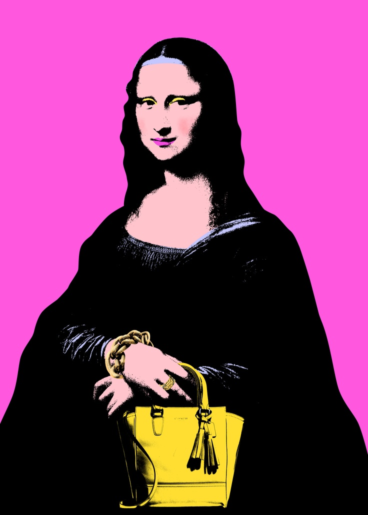 Statement Clutch - Mona Lisa Da Vinci by VIDA VIDA fJgpM9fX
