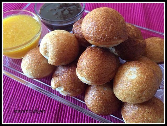 539. Vitumbua (coconut rice pancake balls)