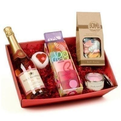 Let your bridesmaids relax after your wedding day with the Pamper Hamper & Personalised Sparkling Rosé. Choose a message for the wine bottle label and let them kick back with their own personal wine and spa goodies.   £59.99