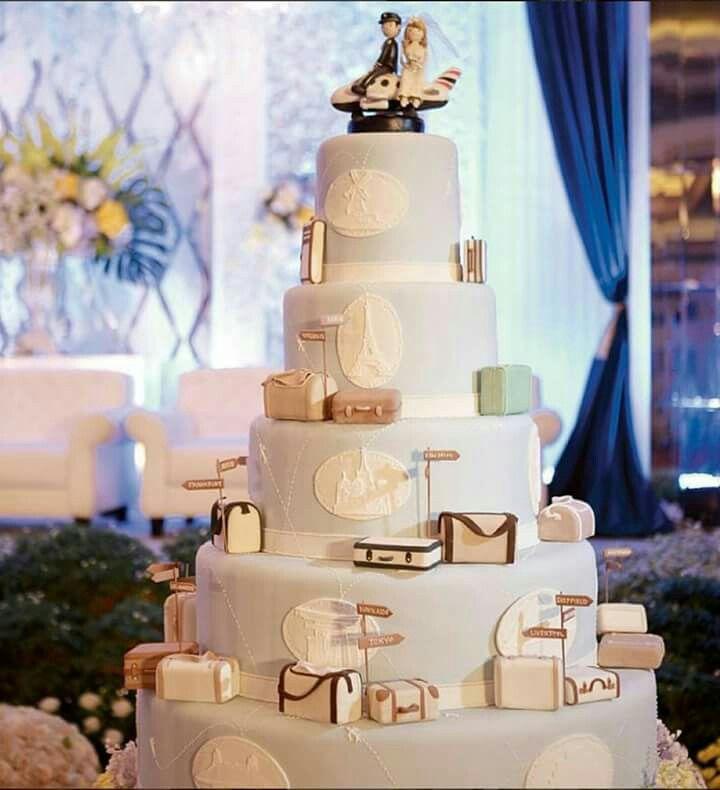 Flight attendant cake