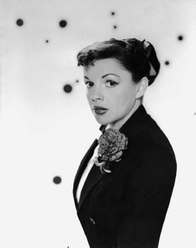 "Judy Garland. ""A Star Is Born"" promo still."