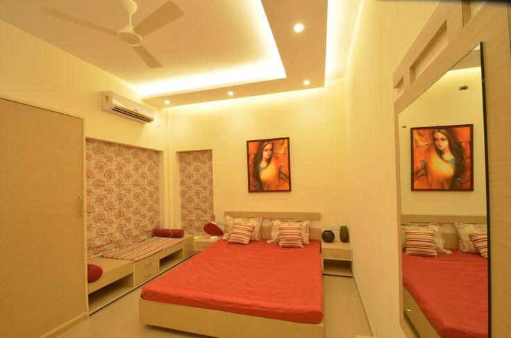 Master #bedroom  Call 033 4040 1010 for a model flat visit  #Kolkata #property