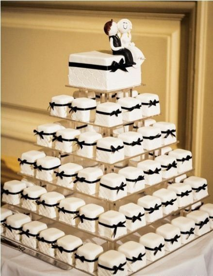 Very Cute Idea for wedding cake http://www.cgliv.com/
