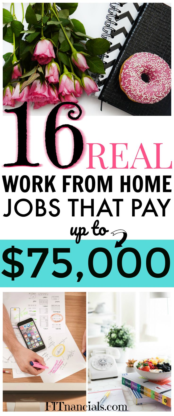 real work from home jobs  via @fitnancials