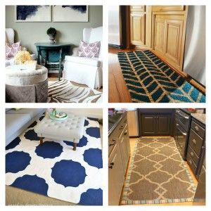 10 gorgeous inexpensive DIY rugs.  A must see!