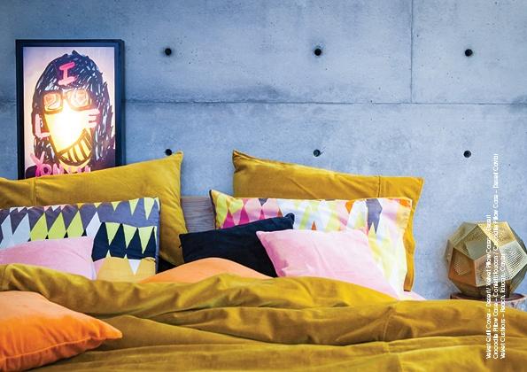 KIP & Co Australia Bedding   Desert Gold Velvet
